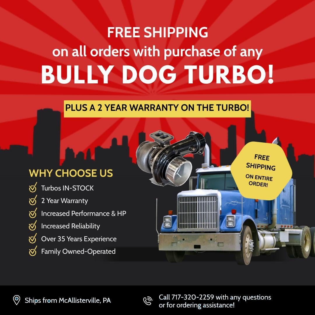 Turbo 2 Year Warranty Bully Dog